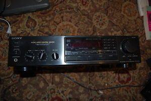 Sony Str AV320 Audio Video Control Center Stereo Receiver Works Needs Repair