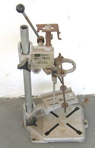 Vintage Craftsman Model 335 25926 Counter Work Surface Mount Drill Press
