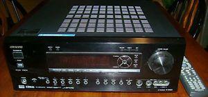 Surround Sound System Onkyo 7 1 Receiver Polk Audio Speakers Kenwood Subwoofer