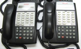 Lot of 4 Avaya Partner 18D Desktop Telephones