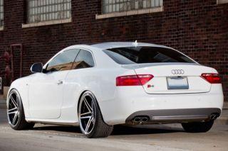 "20"" Audi B8 A5 Rohana RC5 Black Concave Wheels Rims 20x10 5"
