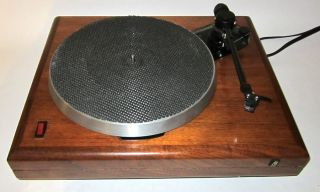 AR Acoustic Research ES 1 Turntable w Audioquest PT 6 Tonearm Restored Modified