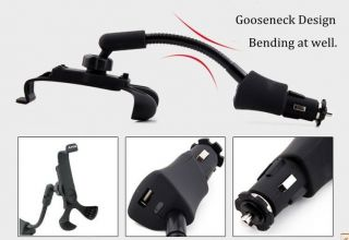 Universal Car Charger Holder Mount Stand for Smartphone Galaxy LG Optimus HTC