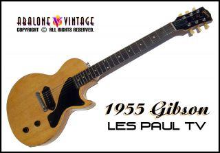 1955 Gibson Les Paul TV Guitar Vintage Jr Junior P 90 Lightweight Mahogany Slab