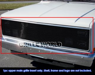 81 87 Chevy GMC Pickup Suburban Blazer Jimmy Phantom Black Billet Grille Grill