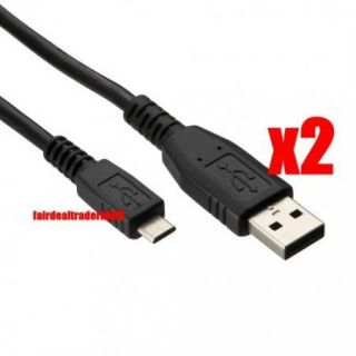 2X Data Charger USB Cable for Samsung Galaxy s S2 S3 3 SIII Nexus Mini Gio Note