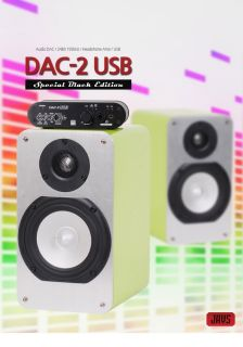 Javs DAC 2 USB Audio DAC 24bit 192kHz Headphone Amp USB Worldwide Free Exp SHIP