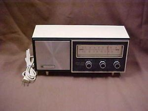 Vintage Panasonic FM Am Solid State Radio Model re 6137 Working