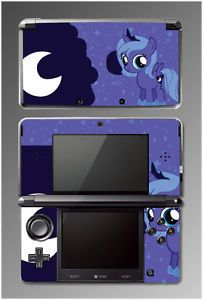 My Little Pony Princess Luna Equestria Girls Video Game Skin Cover Nintendo 3DS