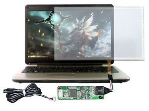 "USB Touch Screen Kit for DIY Desktop Monitor Display 15 6"" Touch Smart 16 9"