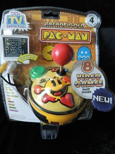 Arcade Gold Pac Man Pacman Plug Play TV Games Video Controller