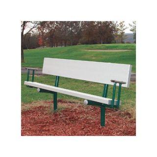 SportsPlay Portable Aluminum Park Bench