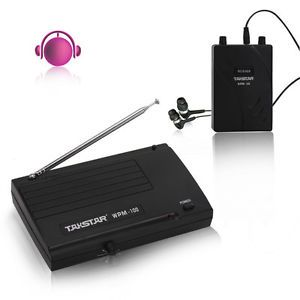 In Ear Professional Stage Wireless Monitor System Receiver Transmitte Earphone