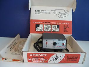 Dremel Solid State Motor Speed Control