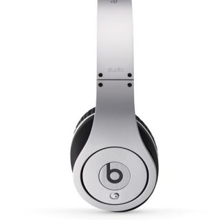 Beats Studio by Dr Dre Silver Original Headphones Cuffie Originali Garanziaita