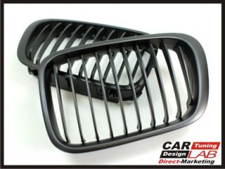 BMW E46 CSL SMG 2D 4D M3 Black Side Fender Grille Grill Vents