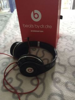 Beats by Dr Dre Studio Headphones Black 848447010240