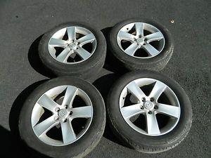 Mazda 17 Set of 4 Factory Alloy Wheels Rims w Michelin Tires MPV 215 60 17