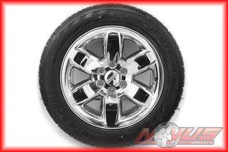 "20"" GMC Yukon Sierra Denali Chevy Tahoe Silverado Wheels Goodyear Tires 18"