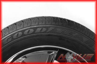 "20"" Dodge RAM 1500 Bighorn Durango Chrome Factory Wheels Goodyear Tires 18"