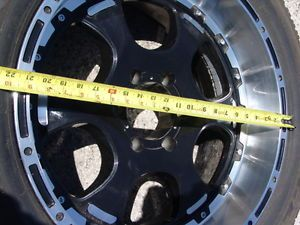 """Wheels 20"""" x 9"""" Goodyear Tires Aluminum Mags Tacoma Toyota P265 50R20 Set of 4"""