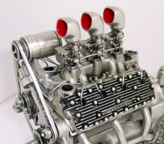 1932 Ford Flathead Motor V8 Offenhauser Edelbrock Hot Rod Rat Rod RARE Item