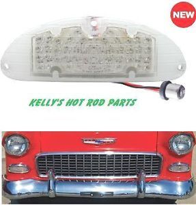 55 Chevy LED Front Turn Signal Parking Light Pair