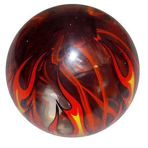 Flamed Smoky Orange Custom Shift Knob Hot Rods Street Rods Classic Cars Truck