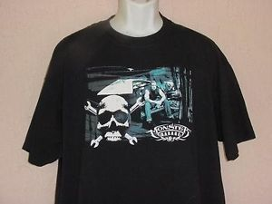 Jessie James Monster Garage West Coast Chopper Custom Cars Hot Rods T Shirt XL