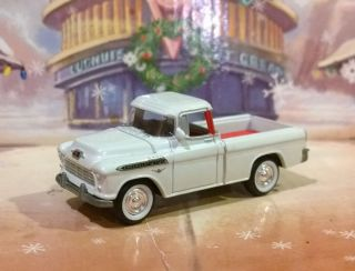 Limited Edition 1955 55 Chevy Pickup Truck Rubber Tires 1 64 Johnny Lightning