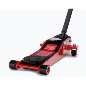 """American Forge Foundry 200T 2 Ton Low Profile Floor Jack 2 3 4"""" to 20"""" Range"""