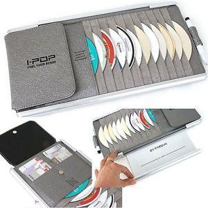 IPOP Multi Sun Visor CD DVD Disk Card Holder Case Car Truck Accessories
