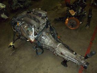 Nissan 240sx JDM SR20DE s14 Non Turbo Engine Trans Wiring ECU Motor Japanese