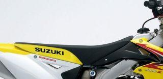 Suzuki RMZ 250 Seat Cover Gripper Vinyl RMZ250 2007 2008 2009 2010 2011