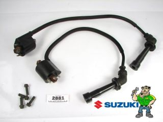 03 09 Suzuki SV650 SV650S Ignition Coils Spark Plug Wires Electric