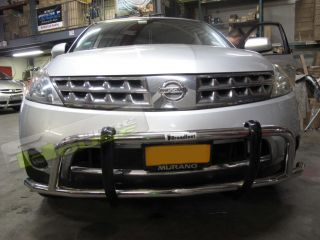 03 07 Nissan Murano Front Runner Bumper Guard Bull Bar Nudge Brush Grill Grille
