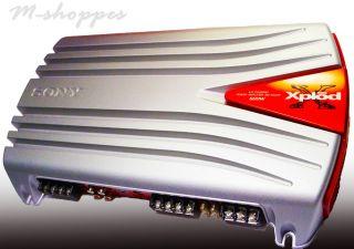 Sony Xplod 600 Watt 4 3 Channel Power Amplifier XM 554ZR New in Box