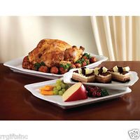 Serving Trays Ceramic for A Professional Buffet Catering Serving Pieces