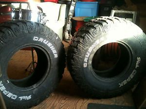Mud Tires Pair 33 12 50 15 Dick Cepek Crushers