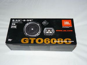 """JBL GTO608C 6 1 2"""" 2 Way Grand Touring Series Component Car Speakers w Warranty 050036930406"""