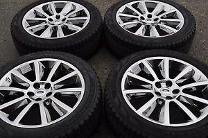 """20"""" Ford Edge Flex PVD Chrome Wheels Rims Tires Factory Wheels 3771"""