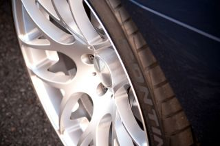 """19"""" Infiniti G35 Coupe Avant Garde M310 Silver Concave Staggered Rims Wheels"""
