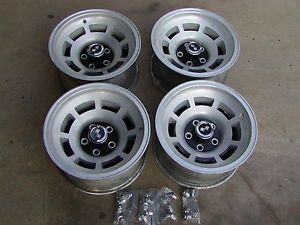 "68 82 C3 Chevy Corvette Factory 15""x8 Wheels with Center Caps and Lug Nuts"