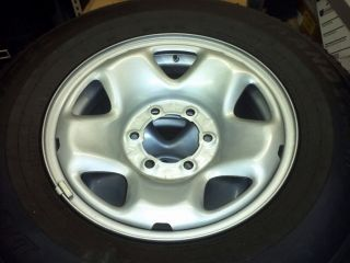 Toyota Tacoma Steel Wheel Tire Package