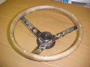 60s 70s 80s Chevrolet Truck Van Camaro Chevelle Wood Steering Wheel