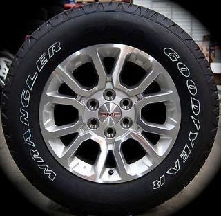 "2014 GMC Sierra Yukon XL 18"" Wheels Rims Tires Chevy Silverado Suburban Tahoe 1"