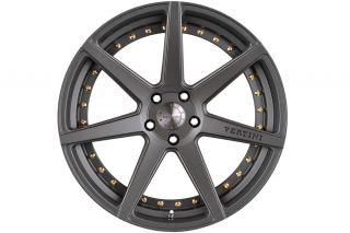 "20"" Vertini Dynasty Gunmetal Concave Wheels Rims Fits 2013 Lexus gs350 GS450 GS"