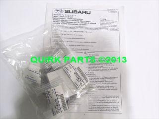 2008 2010 Subaru Impreza STI Fog Light Lamp Kit with Bezels New