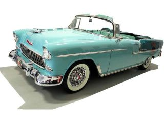 55 Chevy Older Restoration EX Show Car 265 Auto Wire Wheels Wide White Walls
