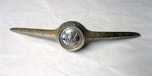Vintage Willys Overland Jeep Pickup Truck Hood Ornament Emblem Badge